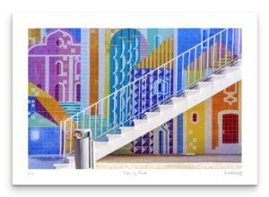 Avenida Infante Santo #1 Print Preview
